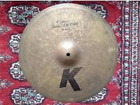 """Zildjian K Custom Special dry crash 15"""" 38cm Rare!!"""