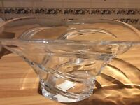 "Waterford Marquis Lead Crystal 10"" Trillium Bowl"