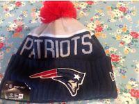 Patriots sport knit hat - adult