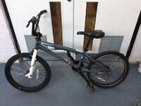 BMX FELTBIKES, BOYS BICYCLE, GREY, USED