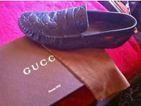 GUCCI San Marino Guccissima driver shoes / loafers - ORIGINAL - 2016 Collection - size 10 1/2