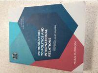 Student politics/international relations textbooks