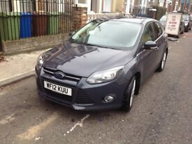 Ford Focus 2012 model 1.6 engine 5 doors hatchback