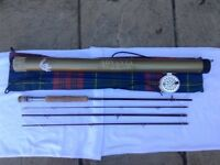 Advanta saltwater travel fly rod 9' #9 with lever drag reel and lines