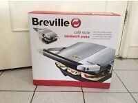 Breville cafe style sandwich press - brand new