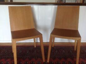 Habitat Ruskin dining chairs (2)