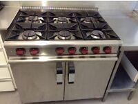 Moorwood. Vulcan gas cooker