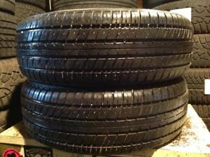 2 pneus d'été 185/65 r14 runway enduro.  100$