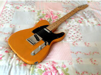 Squier Telecaster by Fender * BUTTERSCOTCH BLOND