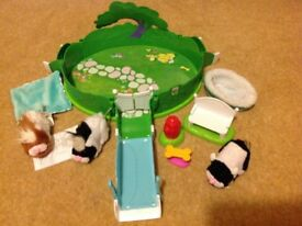 Zhu Zhu Pets Park Playset with Hamsters and accessories