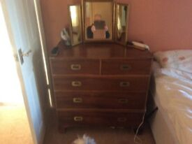 Repro chest of drawers