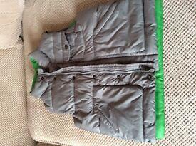 Boys body warmer jacket