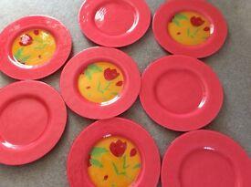 Eight 'Dibbern' dinner plates for sale.