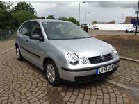Volkswagen polo 1.4 petrol 2004 only £1380 yr mot