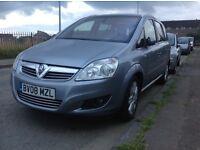 Vauxhall Zafira 1.8 Elite 2008 need repairing