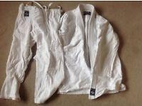 Judo suit - child size 160 cm vgc