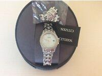 Ladies Citizen bracelet eco drive watch