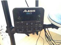 Alesis DMLite kit with folding rack