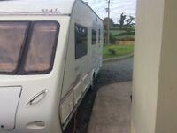 2007 Elddis Odyssey 4 Berth caravan