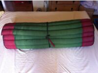 Thai Massage mattress - silk cover
