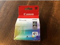 New Canon ink cartridge CL41