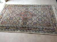 Rug - woolen , ideal for lounge, dining room, hallway. Very good condition f