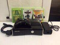XBOX 360 S USED IN VERY GOOD WORKING CONDITION!