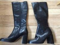 Ladies 5 real leather new boots