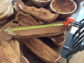 John Lewis New olive wood bowls and chopping boards