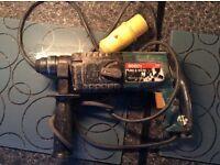 SDS BOSCH DRILL 110 volt