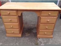 Quality Pine Desk/Dressing Table,,Can Deliver