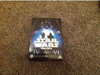 Star Wars trilogy IV, V & VI box set