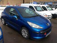 PEUGEOT 207 1.4 HDi turbo diesel van derived car 2009 £2195