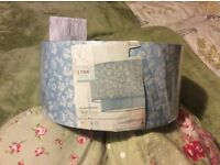 Next Pretty Dipsy Design Baby Blue Floral & Dragonfly Design 2 Tier Lampshade New