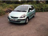 Honda Jazz 1.4 automatic 5 door petrol