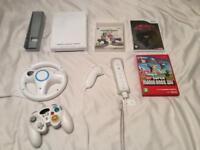 Nintendo Wii + 3 Games