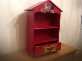 Wooden Shelf Unit