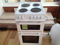 New world 50cm freestanding cooker