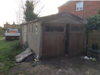 FREE concrete sectional garage!