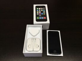 iPhone 5s 16gb o2 giffgaff Tesco immaculate condition with warranty and accessories