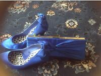 Matching heels size 7 and bag