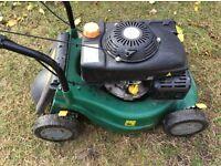 Lawnmower B&Q in excellent working order no grass box 40cm cut ( Bocking )