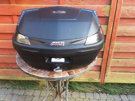 Motorcycle Givi 47Ltr top box