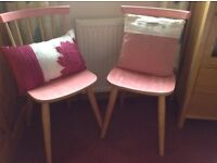 Upcycled kitchen chairs