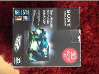 Sony the ultimate 3D movie package with 3D glassed