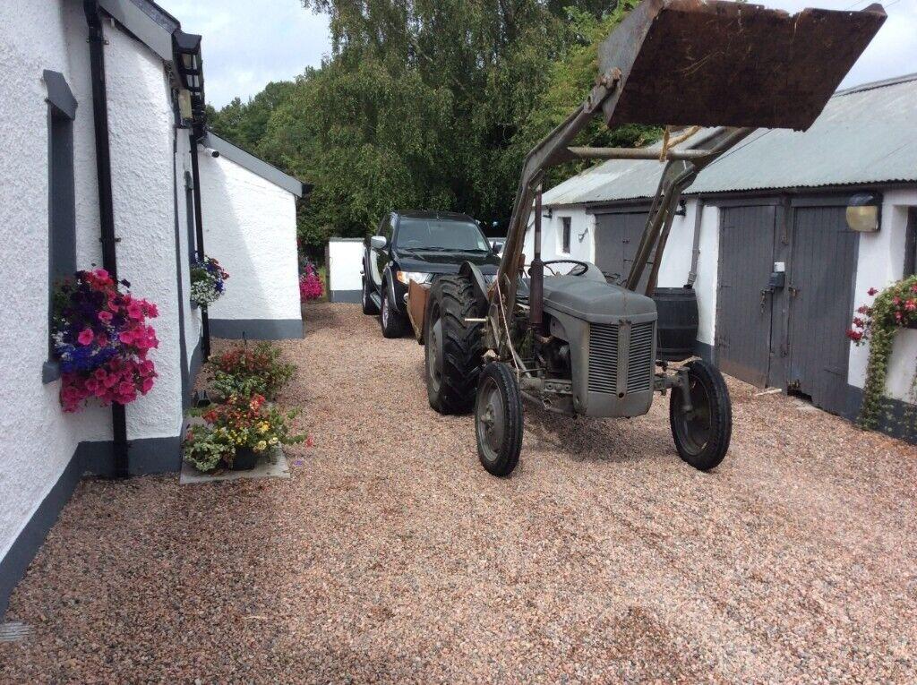 Ferguson Tractor TVO Little Grey Fergie With Loader & Link Box | in Belfast  City Centre, Belfast | Gumtree
