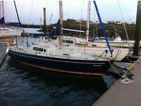 Boat sail yacht 23ft