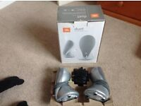 JBL DUETS IN SILVER excellent condition £25 with box