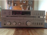 1970's TECHNICS SEPARATE TUNER AND AMPLIFIER