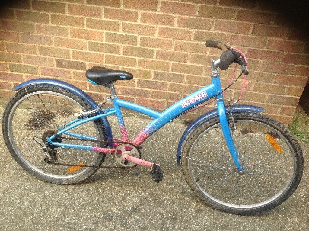 Girls Decathlon Cycle 5 Speed Age 8 11 In Portslade